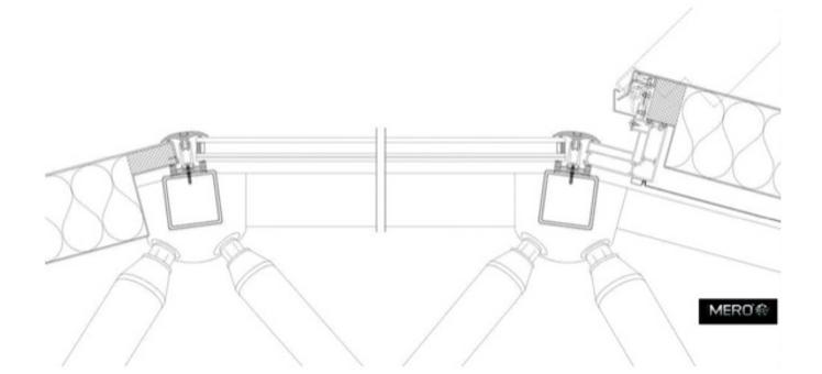 Involucro strato esterno – sezione (particolare) tratto da: Architectural