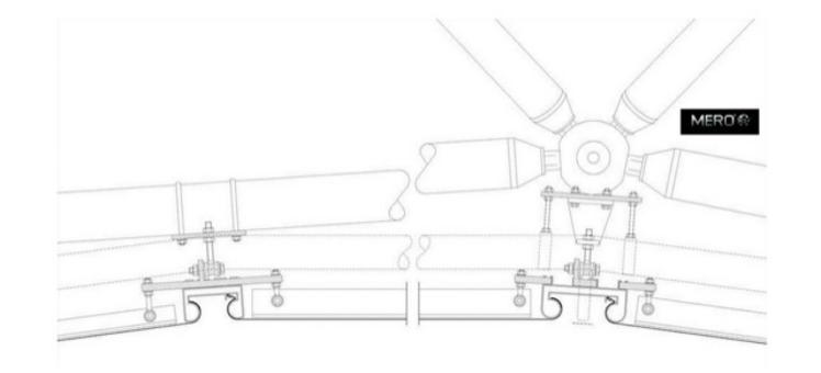 Involucro strato interno – sezione (particolare) tratto da: Architectural
