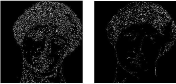 Ancora nel caso di una immagine già vista abbiamo buoni risultati sempre con tecniche non lineari.