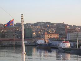 Palermo città portuale. Veduta del porto  dal mare (foto dell'a. 2010)
