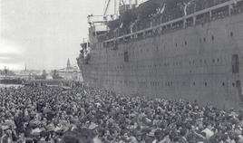 Napoli città portuale. Le navi dell'emigrazione dal porto  (da T. Colletta, 2012).