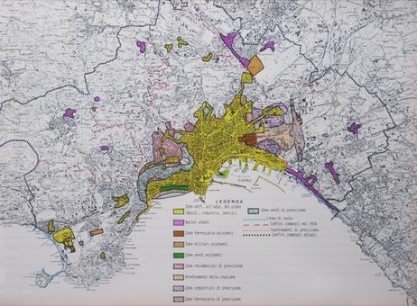 Napoli città portuale. La centralità del porto nel piano regolatore del 1972