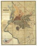 Marsiglia. Il Piano dei lavori pubblici della fine '800 ,conservato negli Archivi Municipali.