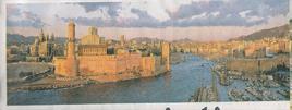 Marsiglia città portuale. L'entrata al porto storico.