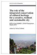 Copertina del volume curato da Teresa Colletta sulla conservazione integrata del patrimonio culturale