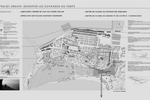 Nafplio città portuale in Grecia. Upgrading the strong points of the city (da E. Maistrou, in T. Colletta, The role of integrated conservation…, 2013).