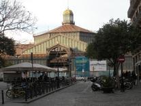 Barcellona. L'edificio modernista del Mercato oggi restaurato (foto dell'a .2009).