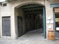 Barcellona. Il minuto commercio dei negozi dei quartieri marittimi (foto dell'a. 2009).