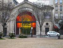 Parigi. Le Pavillon de l'Arsenal e i grandi spazi adibiti a mostre sulla progettazione urbana in città.