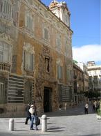 Valencia. Palazzo storico settecentesco completamente restaurato a Museo (foto dell'a. 2006).