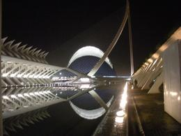 Valencia. Le architetture di Calatrava nel Centro delle Scienze e delle arti (foto dell'a. 2010)