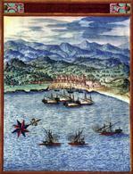 Valencia il porto del Grau presidio turrito e incastellato  prima della costruzione del porto