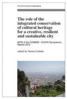 Copertina del libro di testo del Corso sulla conservazione urbana integrata delle città storiche, a cura di Teresa Colletta, Roma, Milano,  Franco Angeli, 2013