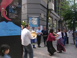 Napoli. Il Ballo della Tarantella al Borgo Orefici. (foto dell'a. 2007)