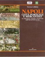 """Copertina del volume di T. Colletta su """"Napoli città portuale e mercantile"""
