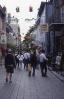 Quebec city. Come Disneyland: una città a solo uso turistico  (foto dell'a.2008)