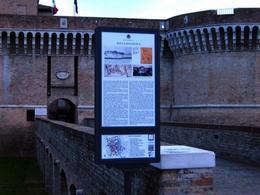 Senigallia (Italia). La Rocca Roveresca e la storia urbana del luogo della città storica (foto arch. Paola Raggi 2011)