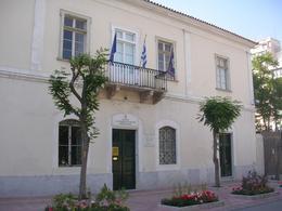 Atene. Museo della città in un antico edificio ottocentesco (foto dell'a. 2007).