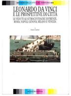 Copertina del volume di E. Guidoni, Leonardo e le prospettive di città, Roma 1998.