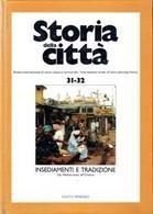 Copertina rivista Storia della città, n. 31-32, fondata da E. Guidoni