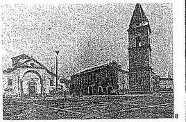 """Benevento. La piazza di Santa Sofia. (da """"Storia dell'Urbanistica/Campania IV"""")."""