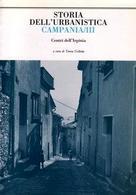 """Copertina del vol.III di """"Storia dell'Urbanistica/Campania"""" sui centri terremotati dell'Irpinia."""