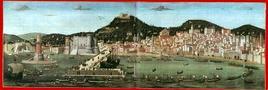 Napoli, la Tavola Strozzi del 1473 di ignoto autore.