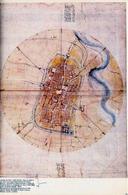 Leonardo Da Vinci, La pianta di Imola del 1502.