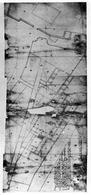 Napoli. Pianta della Platea di Santo Spirito di Palazzo, nel futuro largo di palazzo, (da T. Colletta, Napoli. La cartografia pre-catastale…,1985).