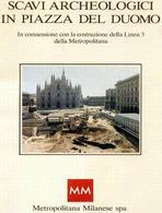 Copertina del volume sull'archeologia a Milano negli anni 1990.