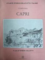 Copertina del volume su Capri di T. Colletta, 1990.