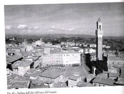 Siena. La piazza del Campo  in una veduta aerea (da E. Guidoni, La piazza del Campo, 1988).
