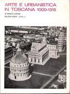 Copertina del volume di E. Guidoni, Arte e urbanistica, I ed. 1968.