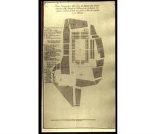 Napoli. Progetto di riorganizzazione della piazza alla fine del '600 (da T. Colletta, Napoli, città portuale e mercantile…, 2006).