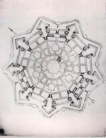 Palmanova. Progetto esecutivo (1593-1594) Biblioteca Comunale di Treviso (da T. Colletta, F. Sergio, Piazza Grande …, 2005).