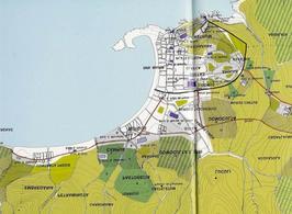 Genova, Restituzione della città portuale nel Medioevo ( da T. Colletta Napoli città portuale…, cap.II).