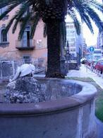 Napoli. Piazzetta di Portosalvo e fontana della Tartaruga ( foto dell'a. 2007).