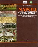 """Copertina del libro di testo """"Napoli città portuale e mercantile"""", Roma 2006."""