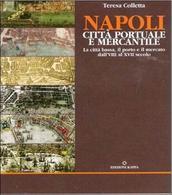 Napoli. La copertina con l'avvicendarsi delle fortificazioni marittime nella cartografia storica del libro su Napoli portuale.