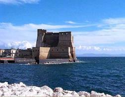 Napoli, Castel dell'ovo fortezza marittima ristrutturata in periodo vicereale (foto dell'a. 2008)