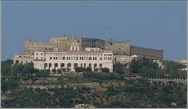 Napoli. Castel S.Elmo sulla collina di San Martino (foto dell'a.2007)