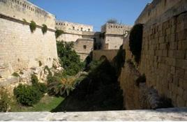Valletta, Malta il forte bastionato di S.Elmo (foto dell'a. 2009).