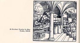 Un esempio di  loggia in un'antica stampa (da T. Colletta, Napoli città portuale e mercantile…, 2006, cap.IV).