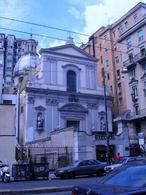 Napoli. La chiesa di San Giorgio dei Genovesi a via Medina (foto dell'a.2005).