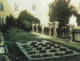 L'orto del monastero dove Mendel ha effettuato i suoi esperimenti sulla genetica delle piante