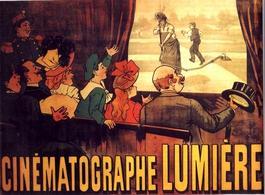 Cinématographe Lumière. Fonte: Wikipedia