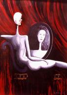 Donna allo specchio, Giorgio De Cesario