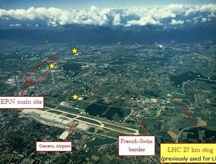 La pianura di Ginevra. Gianotti, FNAL Colloquium, 31/10/2007
