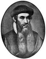 Gutenberg. Fonte: Wikimedia