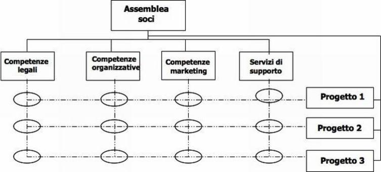COBeC: la struttura a matrice